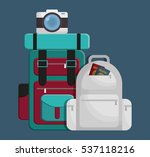 luggage travel icon image... | Shutterstock .eps vector #537118216