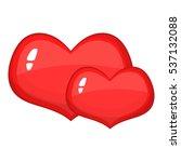 cartoon illustration of red... | Shutterstock .eps vector #537132088