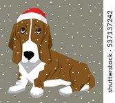 vector polygon dog collection....   Shutterstock .eps vector #537137242