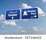3d illustration of road sign...   Shutterstock . vector #537146452