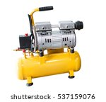 Small photo of Air Compressor on white background