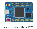 diy electronic mega board with...   Shutterstock .eps vector #537174496