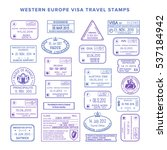 bitmap western europe common... | Shutterstock . vector #537184942