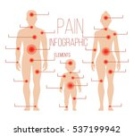 man  woman  child silhouettes... | Shutterstock . vector #537199942
