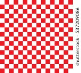 checkered seamless red pattern... | Shutterstock .eps vector #537209086