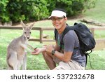young asian man wearing glasses ... | Shutterstock . vector #537232678