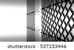 futuristic black and white... | Shutterstock . vector #537233446