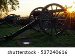 Gettysburg Cannon At Sunrise
