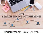seo search engine optimization... | Shutterstock . vector #537271798
