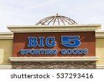 Small photo of Las Vegas - Circa December 2016: Big 5 Sporting Goods Strip Mall Location. Big 5 Sporting Goods is a sporting goods retailer III