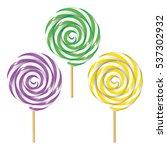 Three Twisted Lollipops...