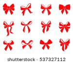 set of graphical decorative... | Shutterstock .eps vector #537327112