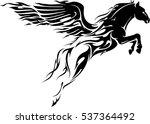 Flaming Pegasus