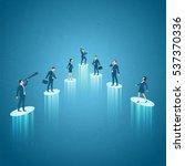 business concept vector... | Shutterstock .eps vector #537370336
