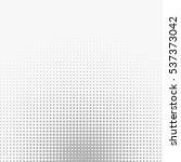 vector halftone texture. | Shutterstock .eps vector #537373042