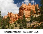 bryce canyon   north america ... | Shutterstock . vector #537384265