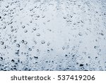 High Contrast Photo Of Drops O...