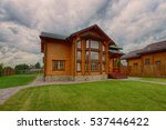 russia  moscow region  wooden... | Shutterstock . vector #537446422