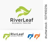 river leaf  nature  green ... | Shutterstock .eps vector #537450256