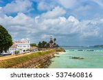 white lighthouse and meeran... | Shutterstock . vector #537460816