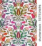 Bright Flower Seamless Pattern...