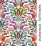 Bright Flower Seamless Pattern...