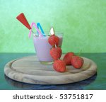 strawberry milkshake | Shutterstock . vector #53751817