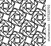 seamless linear triangle vector ... | Shutterstock .eps vector #537520702