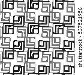 square abstract pattern.... | Shutterstock .eps vector #537521956