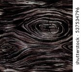 watercolor ebony wood seamless... | Shutterstock . vector #537534796