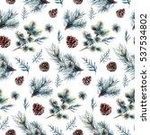 watercolor seamless pattern...   Shutterstock . vector #537534802
