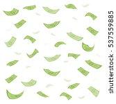finance concept. dollar... | Shutterstock .eps vector #537559885