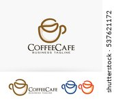 coffee cafe  coffee brand ... | Shutterstock .eps vector #537621172