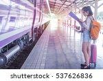 Girl Traveler Adventure Trip...