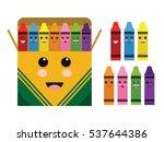 Kawaii Cute Color Crayon Box...