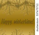 abstract zentangle inspired art ... | Shutterstock .eps vector #537675712