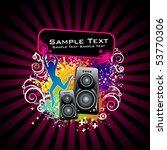 music vector illustration | Shutterstock .eps vector #53770306