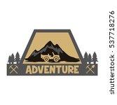 adventure logo | Shutterstock .eps vector #537718276