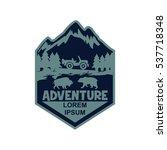 adventure logo | Shutterstock .eps vector #537718348
