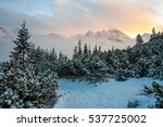 View To Tatry Mountains.