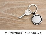 round shaped keys in the wood | Shutterstock . vector #537730375