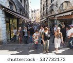 venice  italy   circa september ... | Shutterstock . vector #537732172