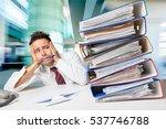 emotional stress. | Shutterstock . vector #537746788