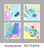 collection of creative... | Shutterstock .eps vector #537752476