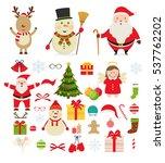 christmas characters and...