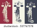 vector illustration silhouette  ... | Shutterstock .eps vector #537767578