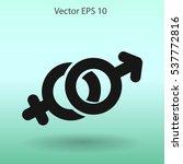 heterosexual vector illustration | Shutterstock .eps vector #537772816