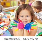 classroom. | Shutterstock . vector #537774772