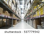 blurred image of shelf in... | Shutterstock . vector #537779542