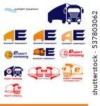 vector export product logo set   Shutterstock .eps vector #537803062